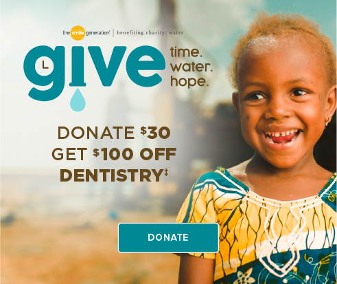 Donate $30, Get $100 Off Dentistry - Denton  Modern Dentistry and Orthodontics